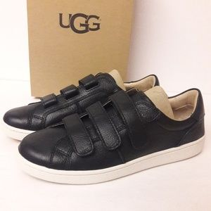 New UGG Leather Sneakers Size 9